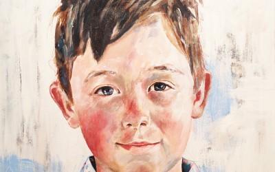 Luie, acrylic on canvas, 60x60cm – 2013 | Leanne Gilroy | Rugby